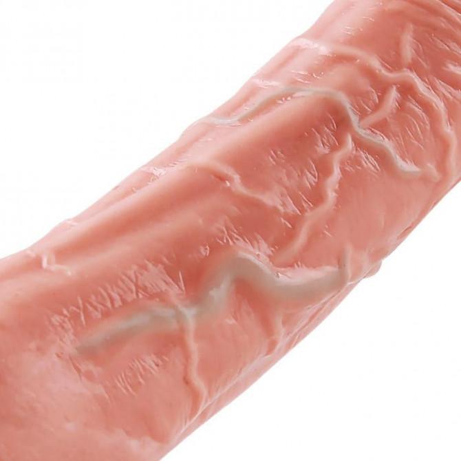 Vibrating Dildo Remote Warming Thrusting Rotating Sex Toy